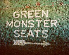 Fenway Park Green Monster Seats