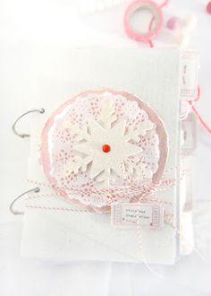 Heart Handmade UK: Christmas Inspirations Journal | My December Daily Type Art Journal 2011