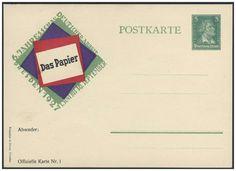 """Germany, German Empire, Deutsches Reich 1927, 5 Pfg.-GA-Privatkarte """"Dresden"""", 6.Jahresschau deutscher Arbeit/Papier, ungebraucht (Mi.-Nr.PP 101 C 4). Price Estimate (8/2016): 10 EUR. Unsold."""