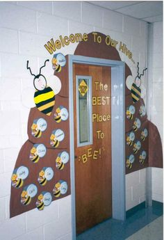 to all my CES colleagues - Classroom door