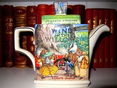 lovedecorateletters - A teapot celebrating one of my favourite books -...