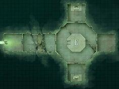 Battlemap - Large Crypt by RoninDude