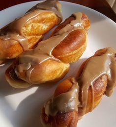 Maple Twist Donuts