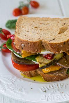 Veggie Club Sandwich - Skinny Ms.