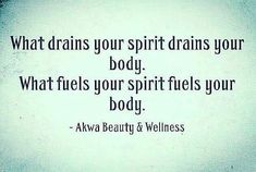 "med-bro: ""What drains your spirit drains your body. ⠀ What fuels your spirit fuels your body. Health And Wellness Quotes, Wellness Tips, Health Tips, Best Inspirational Quotes, Motivational Quotes, Healthy Habbits, Beauty Secrets, Instagram Feed, Anti Aging"