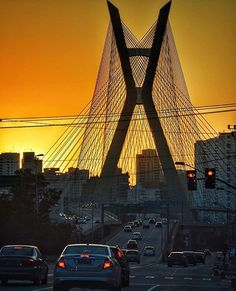 Ponte Estaiada by @danigaspa  #saopaulocity #EuVivoSP #ponteestaiada
