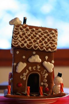 Gingerbread House by Laura N. Bakes, via Flickr