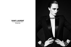 CARA DELEVINGNE LE SMOKING SAINT LAURENT LA COLLECTION DE PARIS PHOTOGRAPHED IN NEW YORK MARCH 17TH 2016
