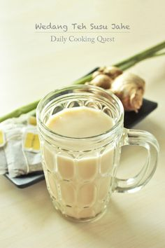 Wedang Teh Susu Jahe - Ginger Milk Tea