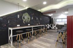Interior design of training center: THE REST AREA!