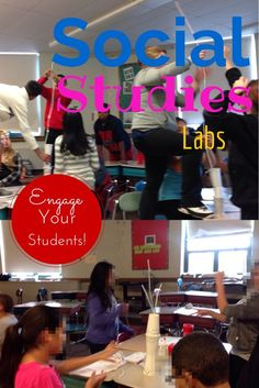 Engage your students using social studies labs!  Great if you teach in a special education classroom.