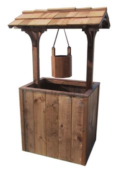 How To Build A Wishing Well Planter Diy Plans 400 x 300