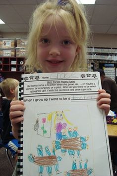 Lily's Purple Plastic Purse writing about what you want to be when you grow up...cute class book!