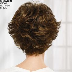 Dance WhisperLite Wig by Paula Young has lovely layers. Short Shag Hairstyles, Short Layered Haircuts, Short Hair Wigs, Curly Hair Cuts, Short Hairstyles For Women, Diy Hairstyles, Curly Hair Styles, Short Hair With Layers, Short Hair Cuts For Women