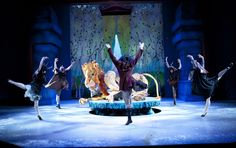 the lion, the witch, and the wardrobe on stage