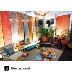 Verdi que te quiero Verdi!!! @verdi_design at BURO hasta mañana... Come and seeeee            Repost from @tomas_verdi via @igrepost_app Verdi @ Buro en el parque de la 93. Coziness  Excelente la feria pasen a visitar!  #verdidesign #soyburo @feriaburo by cristyvera