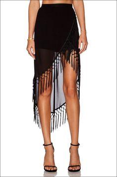 Gimme Gimme: Insanely Cool Tassel Skirt For Under $100