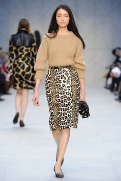 Burberry Prorsum Fashion Show, Fall/Winter 2013-2014