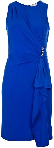 Michael by Michael Kors Sleeveless Draped Dress....it's a cute dress for any ocassion.
