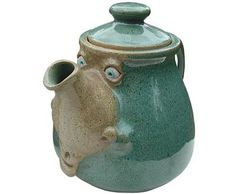 Teapot - standard size - available from  http://www.muggins.com