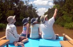 WOW. A family of five has been onna BOAT since 2008. This is their blog.