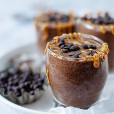 Amanda Bochain, Author at So Nourished   Page 2 of 12 - Page 2 Macaroon Recipes, Milk Recipes, Dessert Recipes, Low Carb Chocolate Cake, Chocolate Chia Seed Pudding, Coconut Egg Recipe, Cream Cheese Cookie Recipe, Keto Pudding, Low Carb Peanut Butter