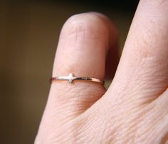 SUMMER SALE 15 Off Croix Ring  Sterling Silver by indiaylaluna, $24.65