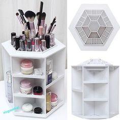 Ideal  Kosmetik Make Up Organizer Aufbewahrung St nder Kosmetikbox Kosmetikst nder