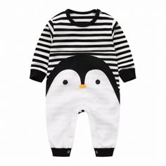 2017 Novelty Baby rompers cartoon Penguin baby boy clothes newborn baby girl clothing , roupas infant jumpsuit for baby clothes Newborn Boy Clothes, Unisex Baby Clothes, Baby Outfits Newborn, Baby Girl Newborn, Baby Boy Outfits, Kids Outfits, Baby Boys, Mom Baby, Toddler Girl