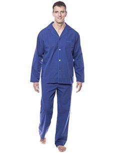 Noble Mount Twin Boat Men s 100% Woven Cotton Pajama Sleepwear Set Review 09c117743