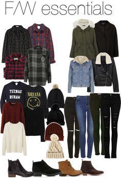 Fall/winter essentials