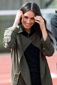 Meghan Markle attends the UK Team Trials for the Invictus Games Sydney 2018 at the University of Bath Sports Training Village in Bath