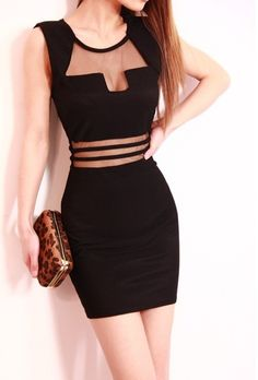Split Joint Solid Color Slim Women's Sleeveless Dress. Discover and shop the latest women fashion, celebrity, street style, outfit ideas you love on https://www.zkkoo.com