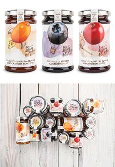 Délices de Michèle – Brand Identity & Packagings by Chez Valois, Robin Kurtz and Michael Mason