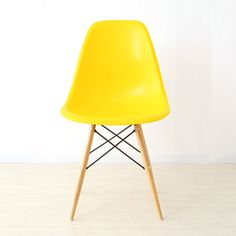 1 X Eames Eiffel DSW Lounge Dining Chair Yellow Panton