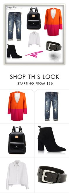 """Tendencia color ROSA CHIQULE otoño invierno 2016-2017."" by jasonegasta on Polyvore featuring moda, Sydney-Davies, Hollister Co., Stuart Weitzman, Y's by Yohji Yamamoto, Timberland, NARS Cosmetics y Hedi Slimane"