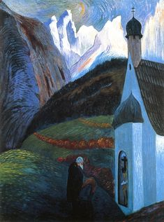 Marianne von Werefkin The Prayer, 1910