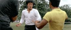 When a horrible human being tries stealing your Doritos: | 24 Badass Bruce Lee GIFS For Absolutely Every Situation