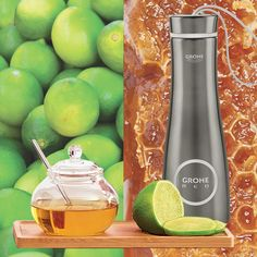 In the cold months, nothing feels better than a hot cup of tea with lemons and honey. Red gives you hot water for your favorite hot beverage straight from the tap. Get your GROHE thermos cup to keep your tea hot. Faucet Kitchen, Open Kitchen, Kitchen Interior, Tea Cups, Beverages, Sink, Feels, Honey, Cold