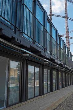 ContainerVille ofrece una solución de oficina modulares en Londres.