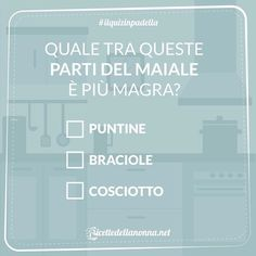 Non vale chiedere a Google mi raccomando  #ilquizinpadella #maiale #puntine #quiz #braciole #cosciotto #food #cooking #foodstagram #follow #followme #instagood #instalike #instadaily #recipe #italianrecipe #italianfood  #good #love #happy #italy #passione #fotooftheday #foodblogger #chef #beautiful #vscofood