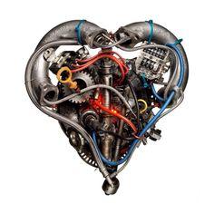 Heart Motor art work