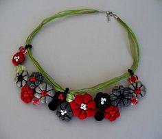 Natalia/MSbluesky - Flowers necklace