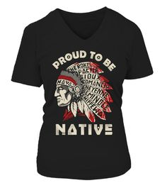 """# PROUD TO BE NATIVE .  Limited edition ''PROUD TO BE NATIVE""""' shirt.Other design here:https://www.teezily.com/stores/native-prideLast Day To order. Support now.TIP: SHARE it with your friends, order together and save money on shipping."""