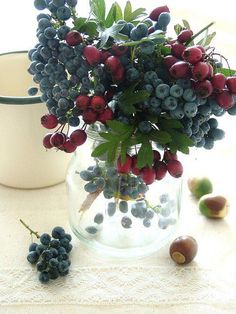 A bouquet of berries! I like it!