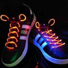 LEDs are not just for illumination only! LED Flashing Shoelaces make your shoes eye-catching in the dark and is a great fashion accessory for parties! It has three lighting modes – static, fast flash