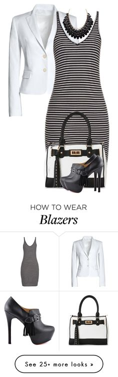 """""""It's Not Always Business"""" by lisa-holt on Polyvore featuring Canvas by Lands' End, ATM by Anthony Thomas Melillo, IMoshion and TaylorSays"""