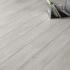 Sol stratifié ARTENS décor châtaignier blanc | Leroy Merlin 7.50