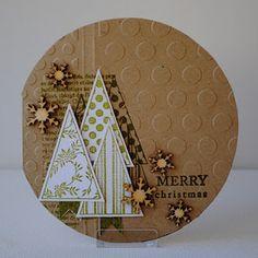 Een kerstkaart hoeft niet altijd in rood groen te zijn *** Christmas card not always in the colors red and green