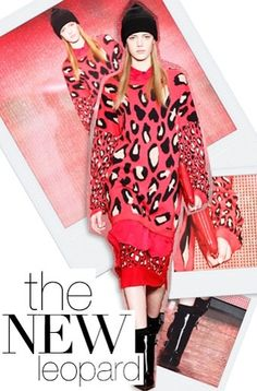 THE BRIGHT COLORS OF LEOPARD PRINTS FALL 2013